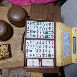 碁盤セット(碁盤と碁石)、将棋板(組立式40駒全てあり)セット、...