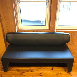 【中古】背つきベンチ クラブ SH45/Jブラック 160cm