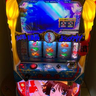 【取引中】涼宮ハルヒの憂鬱 スロット 実機 コイン不要機付き - 木津川市