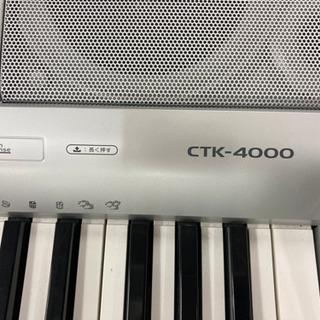 カシオ 電子ピアノ CTK-4000 アダプター無し