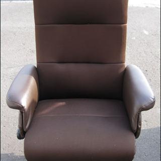 【¥2200-】ニトリ リクライニング チェア ブラウン 椅子 ...