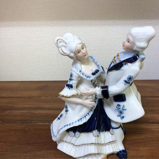 フィギュリン 置物 陶器人形 LLADRO ダンス 西欧