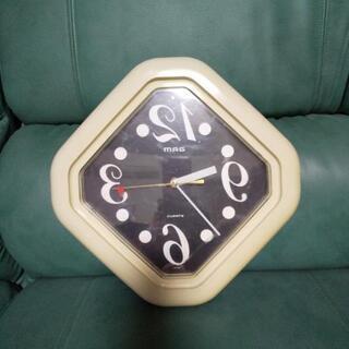 反対壁掛け時計