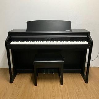 即日受渡❣️カワイ電子ピアノ象牙調 木製鍵盤 58000円