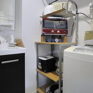 置き物のためのキッチン台 4段