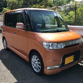 平成19年 タント カスタム VS ターボ L350S オレンジ 走行11万キロ 予備検付き!!の画像