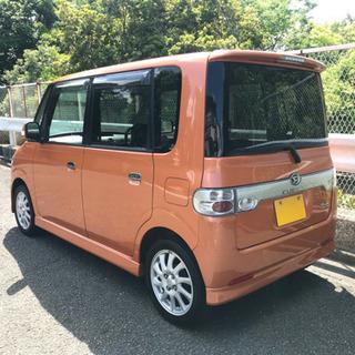 平成19年 タント カスタム VS ターボ L350S オレンジ 走行11万キロ 予備検付き!! - ダイハツ
