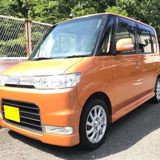 平成19年 タント カスタム VS ターボ L350S オレンジ 走行11万キロ 予備検付き!! − 神奈川県
