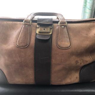 ★重厚 革製旅行バッグ