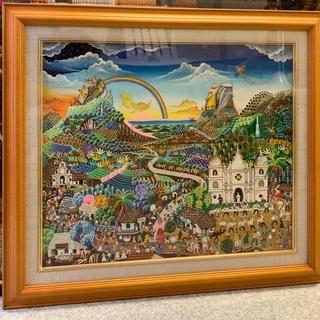 マリオマリン作 ニカラグア素朴画