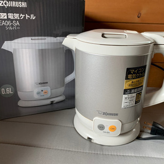 ZOJIRUSHI 象印 電気ケトル 0.6L  中古品 CK-...