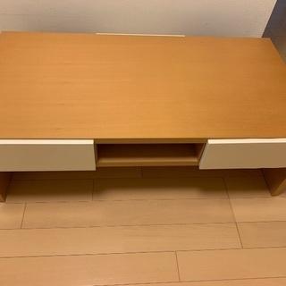 ローテーブル(引出し付)《インザルーム》