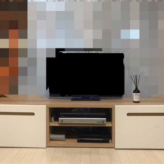 IKEAのTV台です!