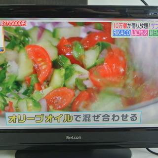 BeLson 19V型液晶テレビ リモコン/カード付 DS19-...
