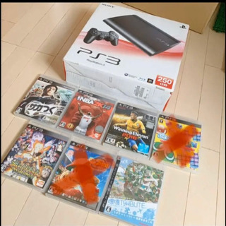 ps3とソフト5つ