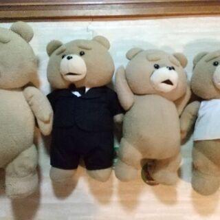 Tedのぬいぐるみ4体