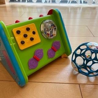 peopleの指先の知育おもちゃとオーボール(青)