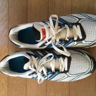 Adidas adizeroランニングシューズ 25.5cm