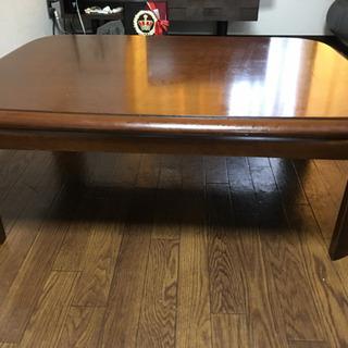 あげます!木製テーブル