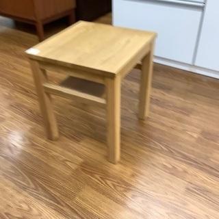 【トレファク南浦和】無印良品サイドテーブル