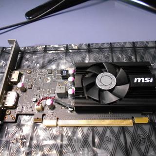 グラフィックボード MSI  GeForce GT 1030 2...