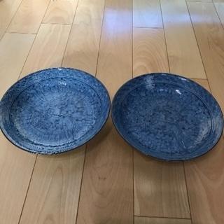 147、肥前哲三郎窯  巾24㎝中鉢  2枚