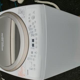 東芝◆電気洗濯乾燥機 AW-7V3M 2015年洗濯7K、乾燥4...