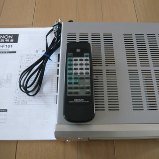 DENON MDレコーダー DMD-F101