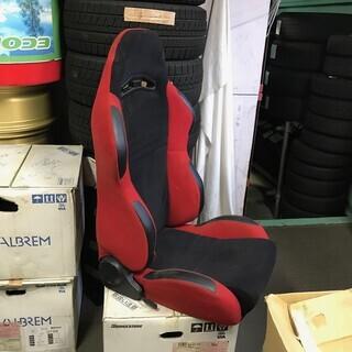 メーカー不明 レカロタイプ セミバケットシート 運転席側