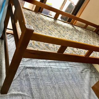 シングルベッド フレーム 大容量のベッド下収納