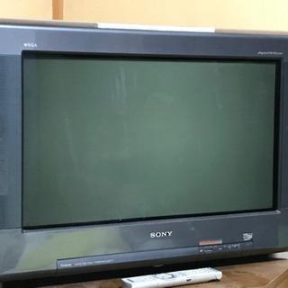 ソニー 42型ブラウン管テレビ