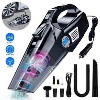 車用掃除機 ハンディクリーナーサイクロン方式 車用空気入れ