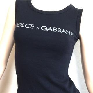 DOLCE & GABBANA ドルガバ D&G ノースリーブ ...