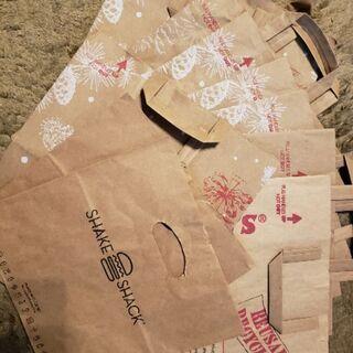 トレーダージョーズとシェイクシャック紙袋