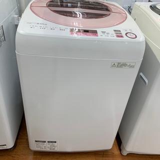 SHARP8.0kg全自動洗濯機!!可愛らしいピンク&ホワイトです♪