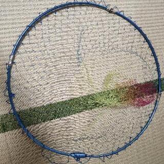 タモ網 直径約60cm
