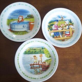 名作絵皿3枚セット 非売品