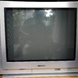 ビクター21型ブラウン管テレビ+地デジチューナー