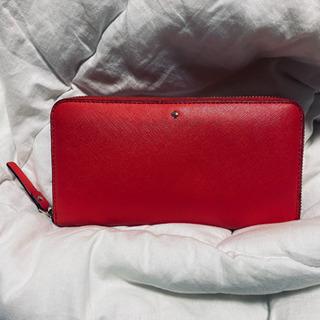 【値下げ可】kate spade 財布(赤)
