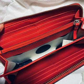【値下げ可】kate spade 財布(赤) - 瀬戸市