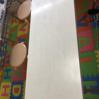 折り畳み机 3台