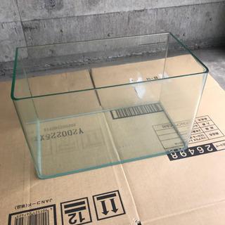 水槽 ガラス製 小の画像