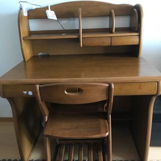 学習机椅子セット 照明おまけの画像