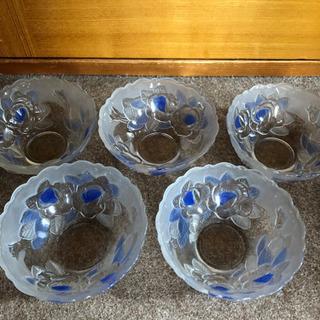 ガラス小鉢5個セット
