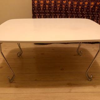 無料☆白いローテーブル