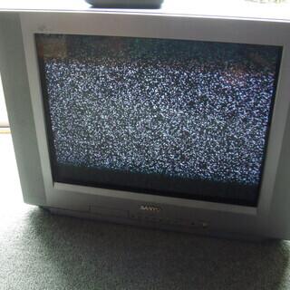 サンヨー フラットブラウン管テレビ 21型 C-21A30