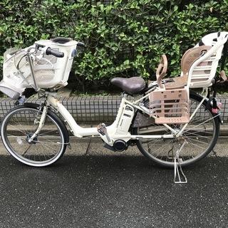 ブリヂストン Angelino A53 電動アシスト自転車 3人乗り