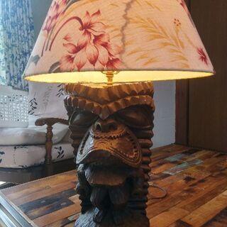 ハワイ ティキ ランプ