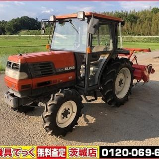 点検・整備済み クボタ トラクター GL280 キャビン 28馬...