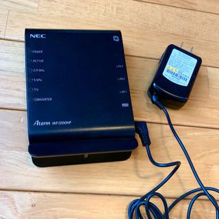 無線LANルーター PA-WF1200HP NEC製